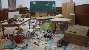 scoala distrusa Clejani Giurgiu