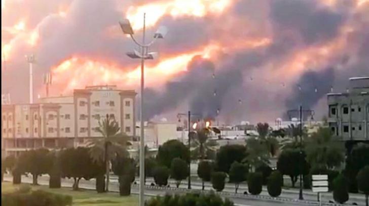 Prețul petrolului explodează după atacurile din Arabia Saudită