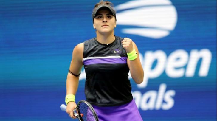 Veste excelentă pentru tânăra Bianca Andreescu