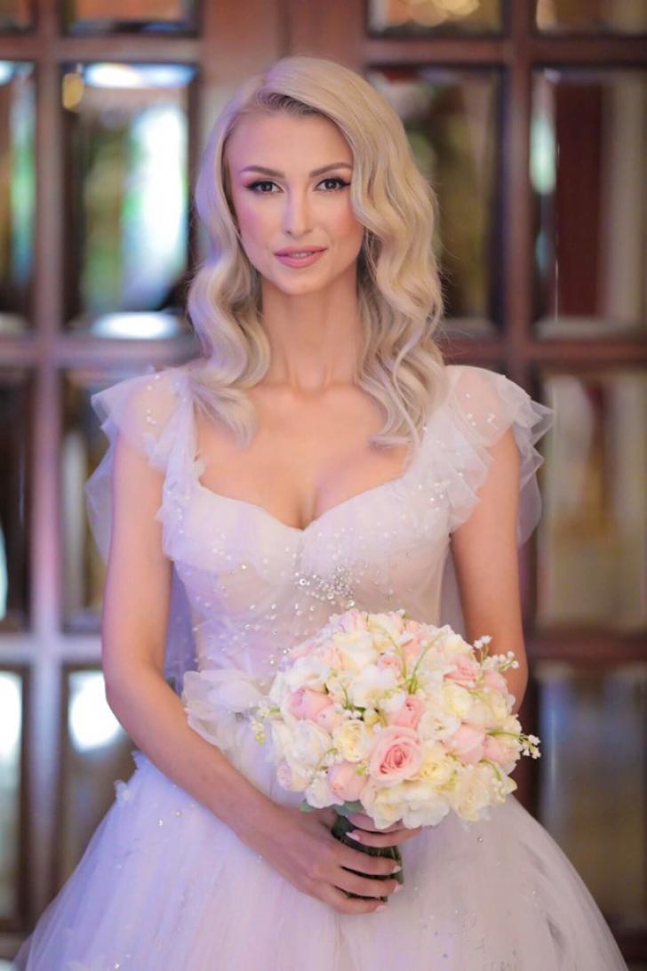 Andreea Bălan, imagini de la nuntă și botez