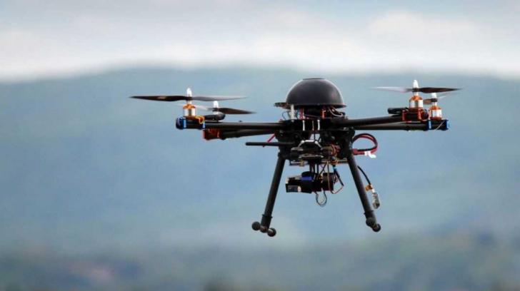 Transportul medical cu drone, soluție inedită a britanicilor în timpul pandemiei COVID