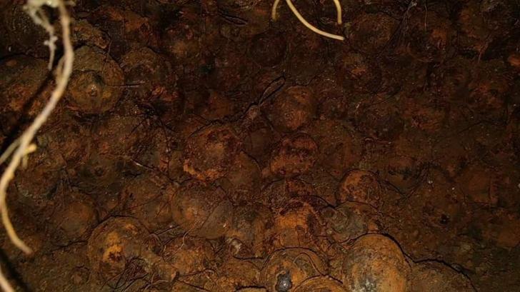 Grenade neexplodate în Vrancea