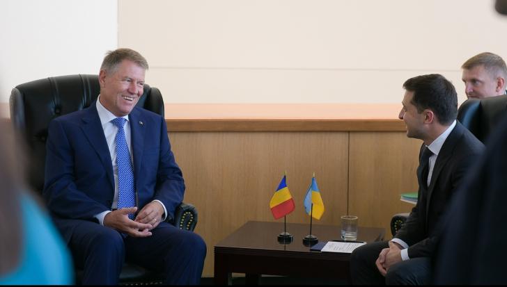 Prima întâlnire a lui Klaus Iohannis cu președintele ucrainean