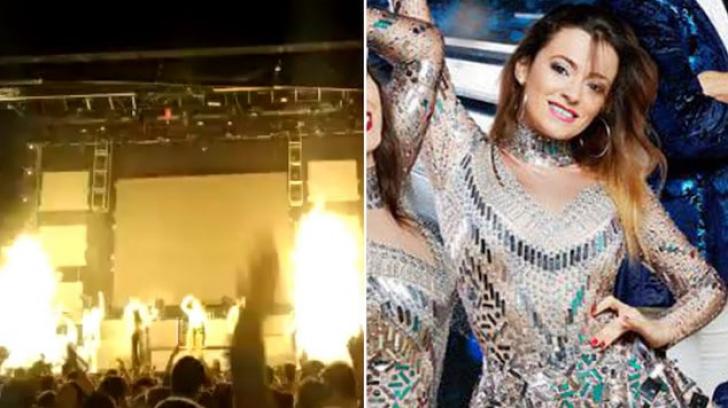 O cântăreaţă spaniolă a fost ucisă pe scenă în timpul unui concert