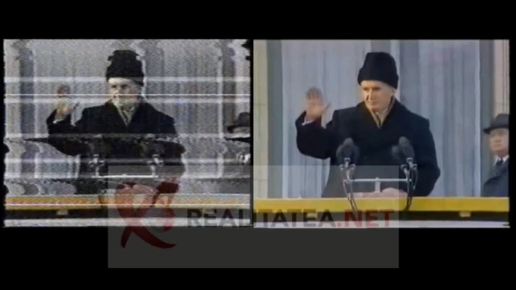 Revoluţie 1989 | Imaginile originale cu discursul lui Ceauşescu din 21 decembrie!