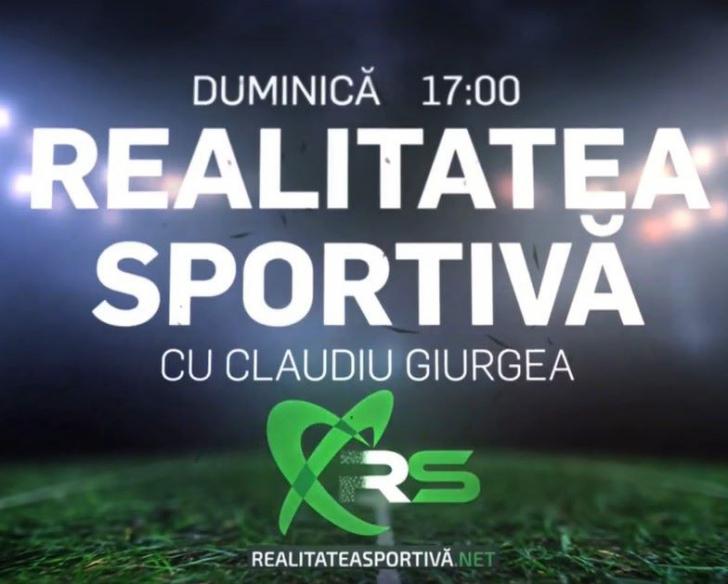 Realitatea Sportivă, gata de prima ediție! Invitați-surpriză la start!