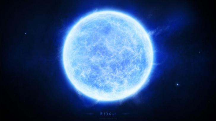 Cea mai grea stea din Univers este incredibil de mică!