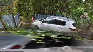 Scene XXX pe Google Street View