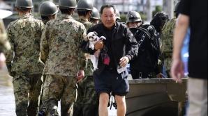 Taifunul, victime în Japonia