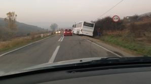 Autobuz derapat
