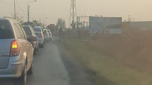 Accident grav, lângă Timișoara: două victime, circulație blocată