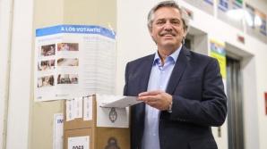 Președintele ales al Argentinei, Alberto Fernandez