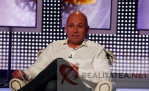 Cozmin Gușă, la ultima emisiune în studioul Realitatea. Foto: Cristian Otopeanu