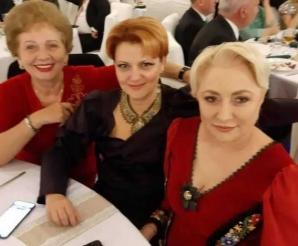 Dăncilă petrece cu Teodorovici şi Ciolacu, după relansarea candidaturii la prezidenţiale