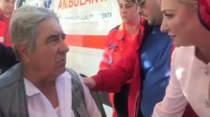 """Dăncilă, paramedic. Cum a """"salvat"""" un bărbat căruia i s-a făcut rău la un miting PSD"""