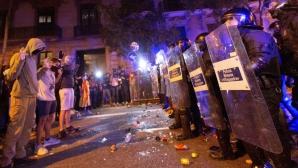 Proteste la Barcelona