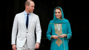 Kate Middleton și prințul William, în Pakistan