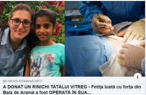 Fake News despre Sorina Săcărin