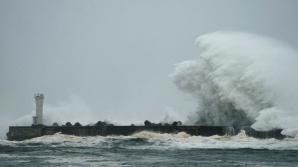 Japonia, afectată de cel mai violent taifun din ultimii 60 de ani Foto: BBC
