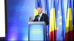 Klaus Iohannis la Timișoara Foto:TION
