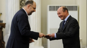 Kelemen Hunor și Traian Băsescu