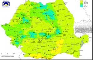 Temperaturi resimțite în România