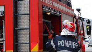 Explozie în Cluj-Napoca, la un bloc aflat în construcţie: două victime