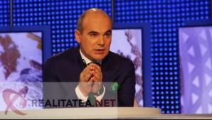 Rareș Bogdan, pe vremea când realiza emisiunea Jocuri de Putere la Realitatea TV. Foto: Cristian Otopeanu