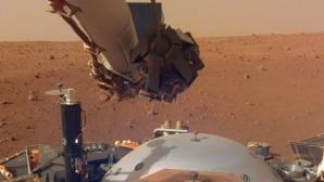 Planeta Marte, activitate seismică puternică