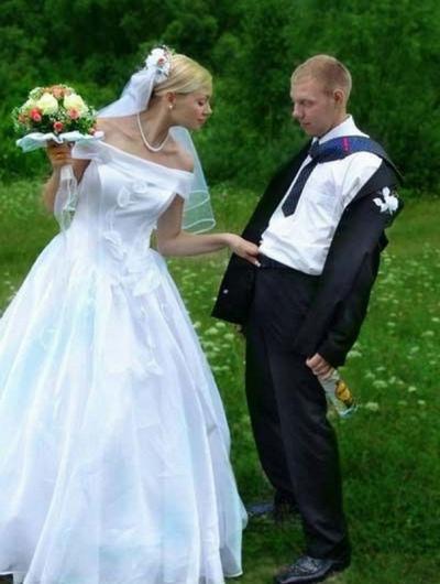 Nunta a fost minunată, dar pozele i-au lăsat pe toți mască. Acum sunt virale și stârnesc hohote