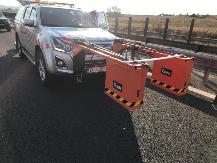 """A1 Sibiu – Deva a """"crăpat"""" din nou. Trafic restricționat pentru lucrări de remediere"""