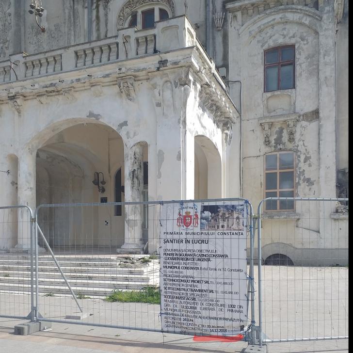 Dăncilă promite în campanie că unul dintre simbolurile țării, Cazinoul din Constanţa, va fi refăcut