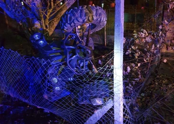 Accident grav, la Bistrița-Năsăud. Un mort, după ce s-a răsturnat cu ATV-ul