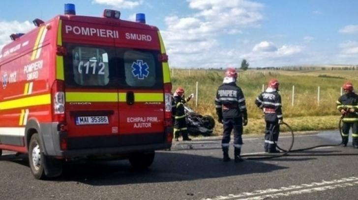 Scene șocante, în trafic, pe DN1! Bărbat mort, după ce s-a aruncat, din mers, din autocar / Foto: Arhivă