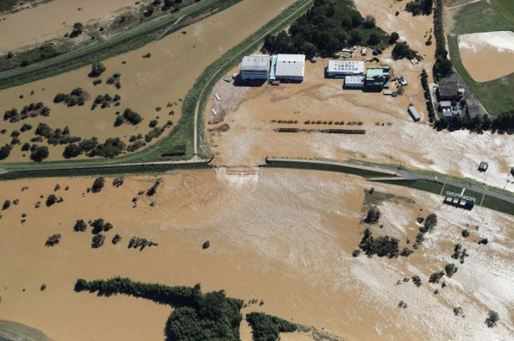 Japonia, afectată de inundații și alunecări de teren