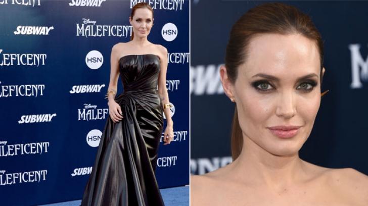 """Angelina Jolie, imagini spectaculoase la premiera filmului """"Maleficent: Suverana Răului"""""""