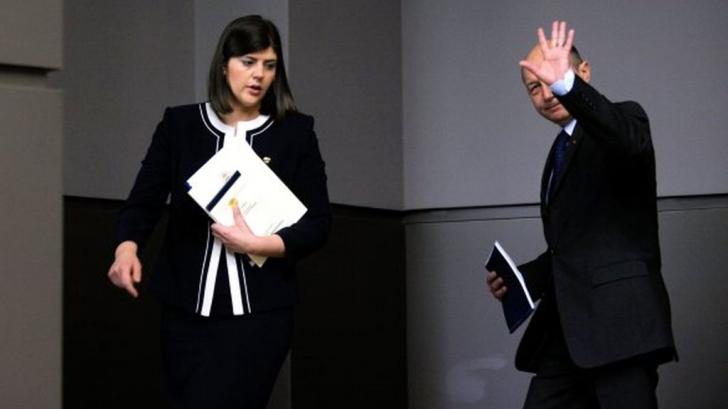 """Băsescu: """"Kovesi a făcut jocurile americanilor și europenilor"""""""