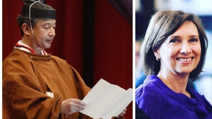 Carmen Iohannis, la ceremonia de întronare a Împăratului Naruhito