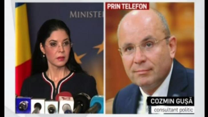 """Cozmin Gușă, după raportul MCV: """"O mare minciună"""". Ce-a spus despre Ana Birchall"""