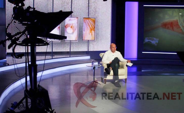 <p>Cozmin Gușă, la ultima emisiune în studioul Realitatea. Foto: Cristian Otopeanu</p>