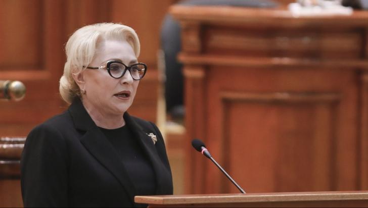 Viorica Dăncilă, discurs în plen