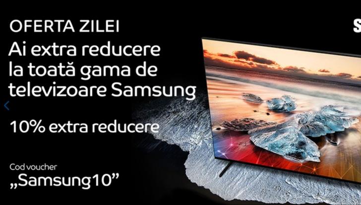 eMAG - Televizoare Samsung cu 10% mai ieftine decat pretul afisat
