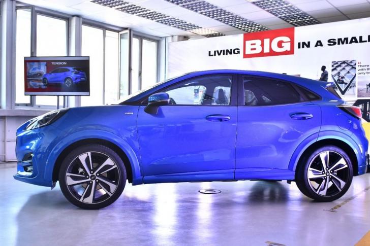 VIDEO Ford Puma intră în producția de serie la fabrica din Craiova