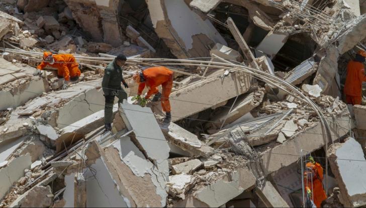Tragedie în Brazilia. Un bloc de șapte etaje s-a prăbușit în Fortaleza