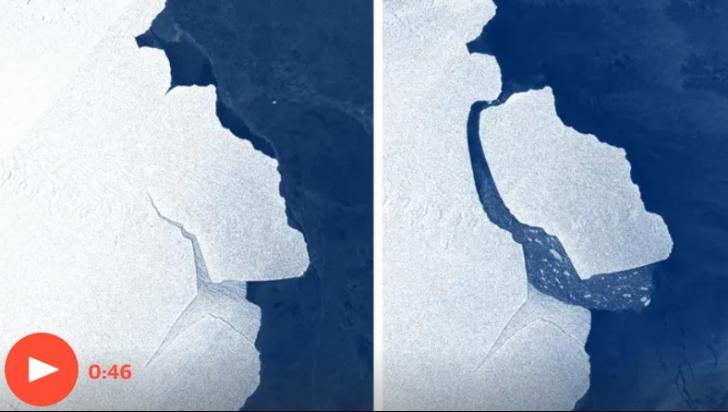 Ghețar din Antarctica