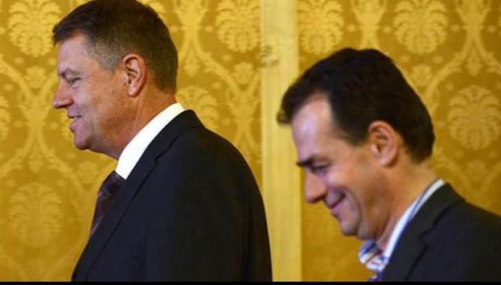 Klaus Iohannis și Ludovic Orban