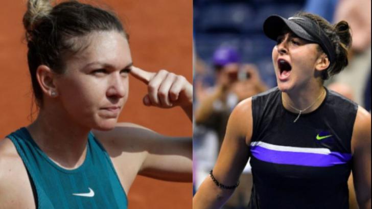 Simona Halep vs Bianca Andreescu. Cine este favorită la pariuri!