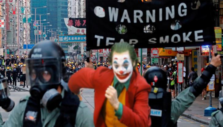 Joker, noua față a protestelor