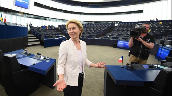 Votarea Comisiei von der Leyen este incertă