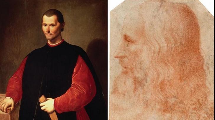 Un tablou misterios cu Machiavelli ar putea aparține lui Leonardo da Vinci